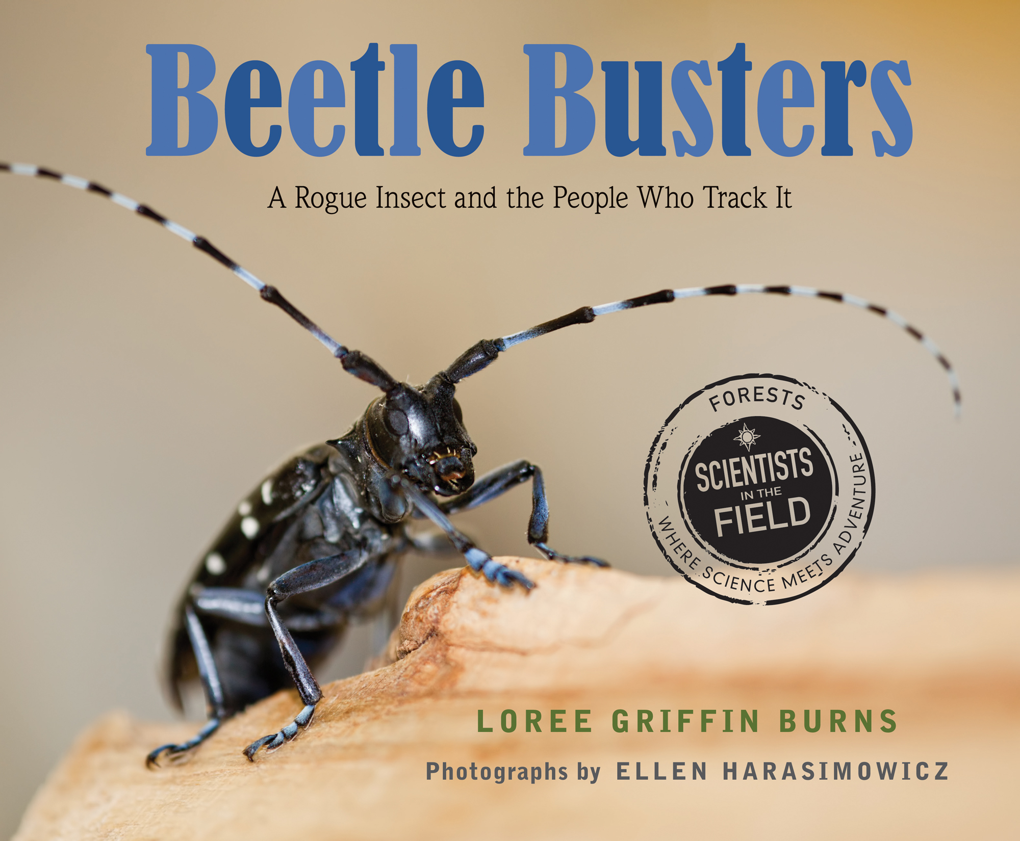 Autographed Hardcover: Beetle Busters