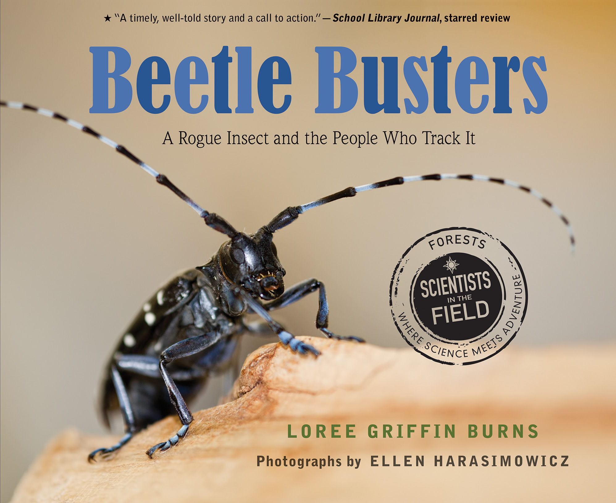 Autographed Softcover: Beetle Busters