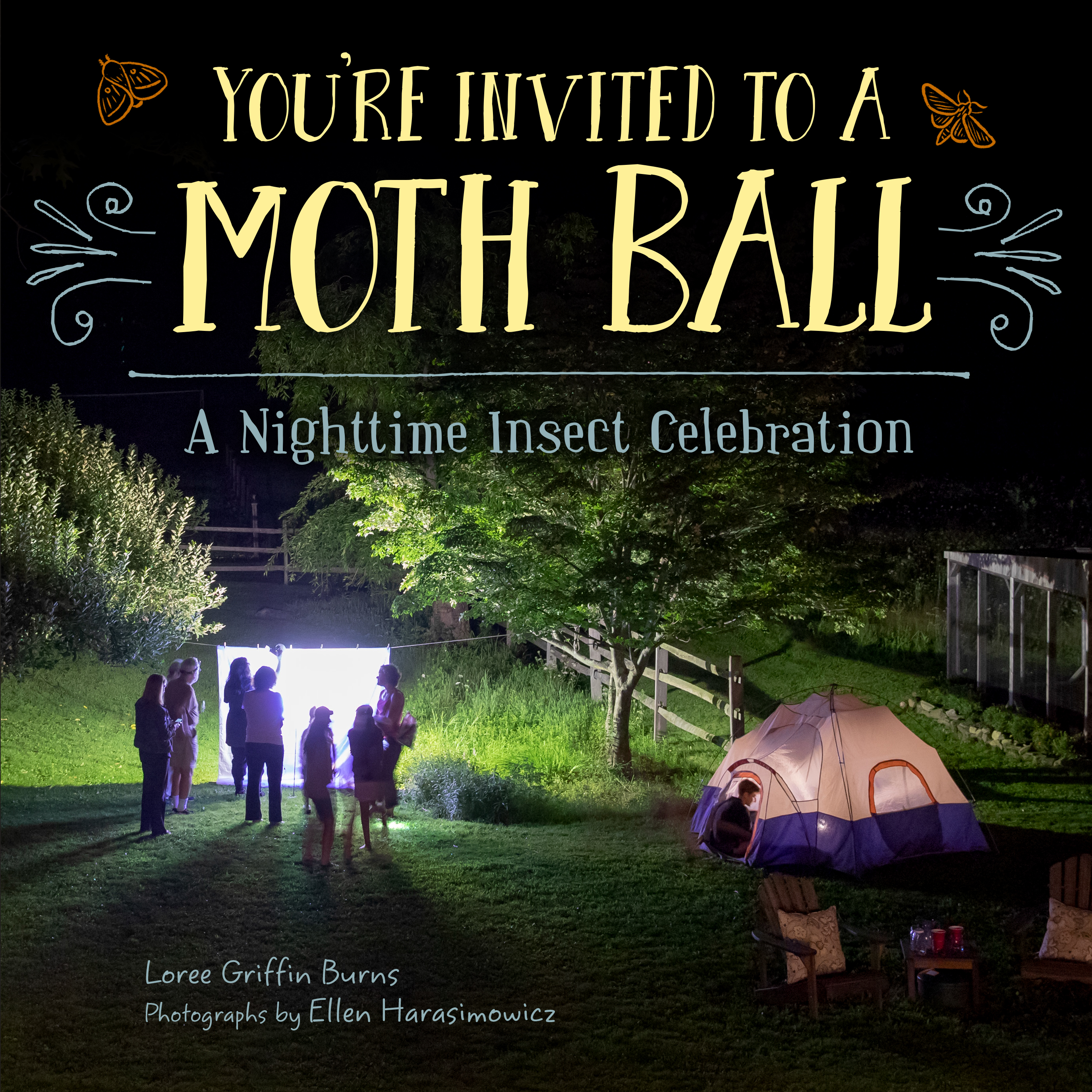 Autographed Hardcover: Moth Ball
